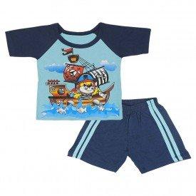 conjunto blusa shorts ref2153 739