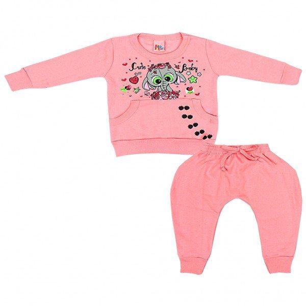 rosa conjunto feminino elefante ref4067