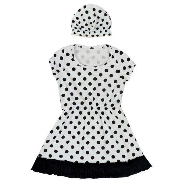 conjunto vestido toca branco