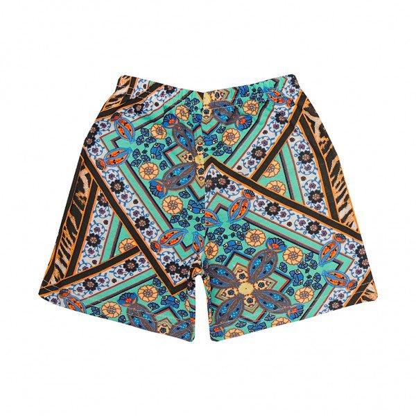 shorts etnico azul