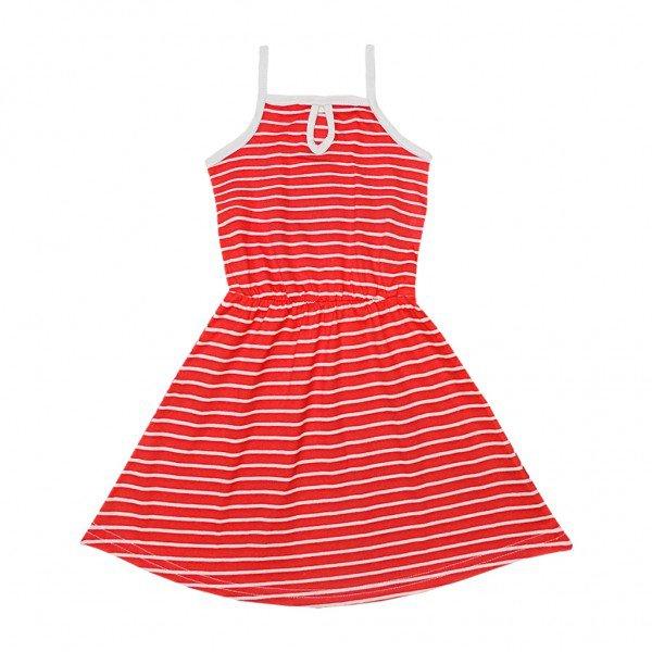 vestido vermelho listra
