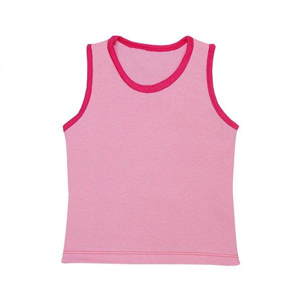 regata rosa chiclete friso pink