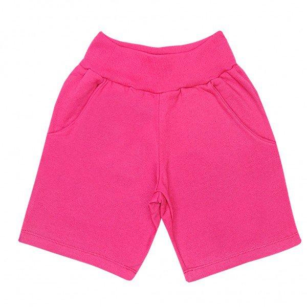 shorts pink moletom